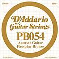D'AddarioPB054 Phosphor Bronze Single Acoustic Guitar String thumbnail
