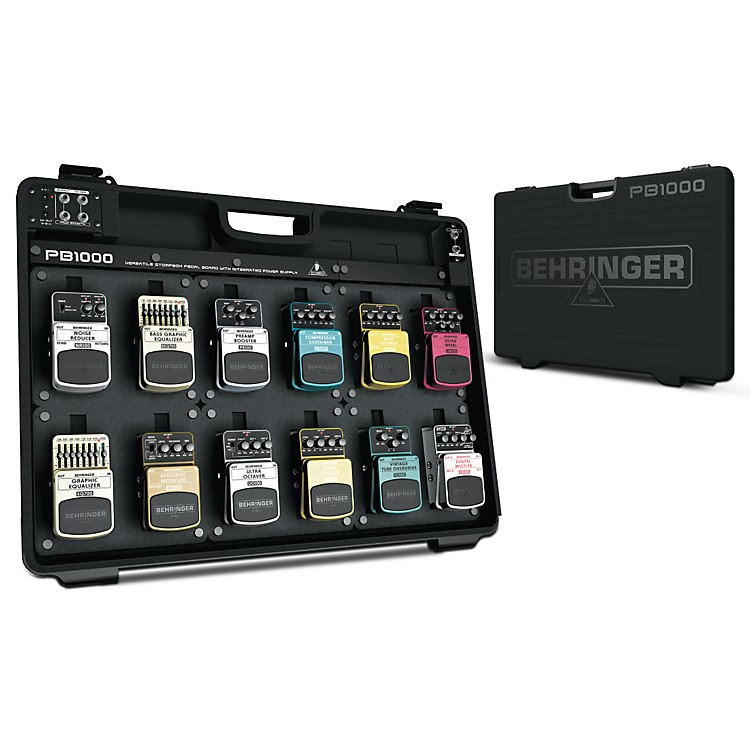 Behringer PB1000 Powered Pedal Board  888365901787
