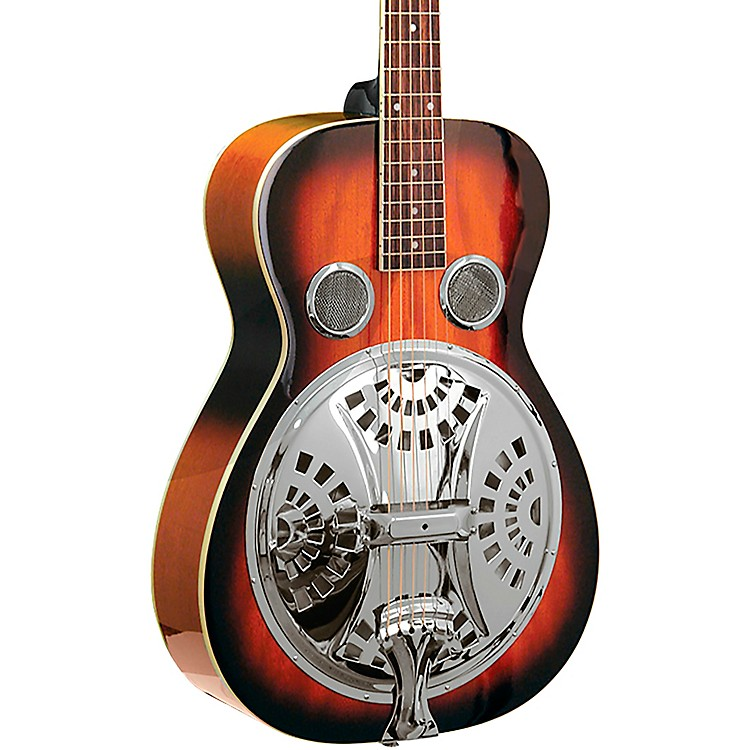 Gold TonePBR Paul Beard Signature-Series Roundneck Resonator GuitarTobacco Sunburst