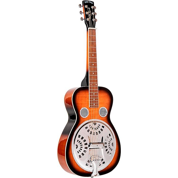 Gold TonePBS Paul Beard Squareneck Guitar with CaseSunburst