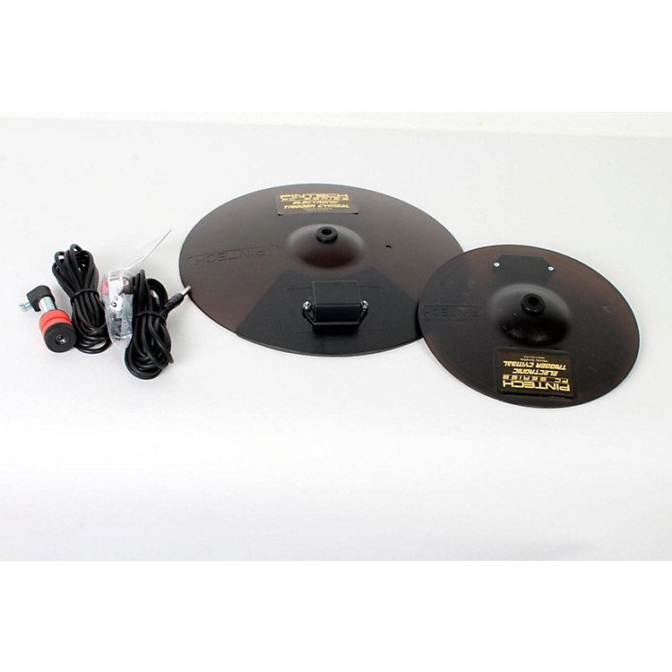 Pintech PC Series 2-Piece Effects Cymbal Pack 10 and 14 in., Black 888365822303