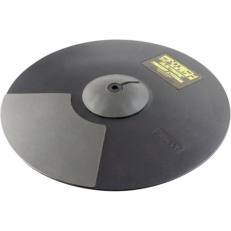 Pintech PC Series Dual Zone Ride Cymbal 18 in., Black 888365822273