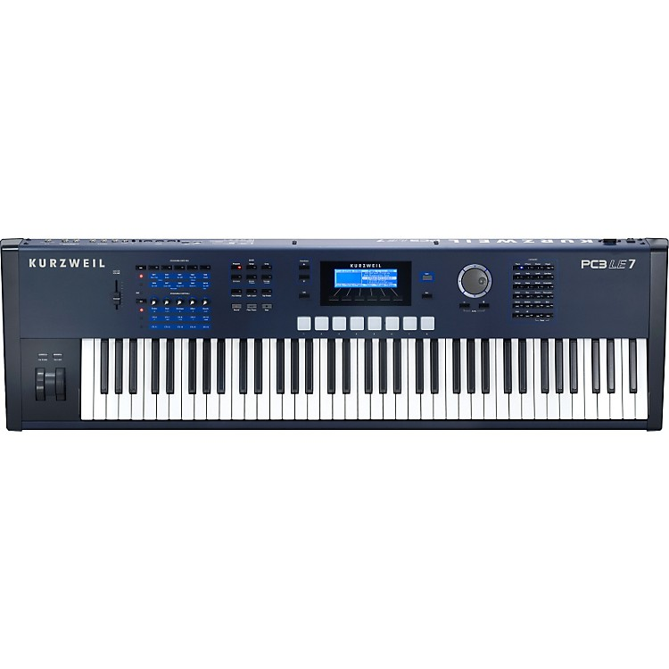 KurzweilPC3LE7 76 Key Performance Controller & Workstation Keyboard