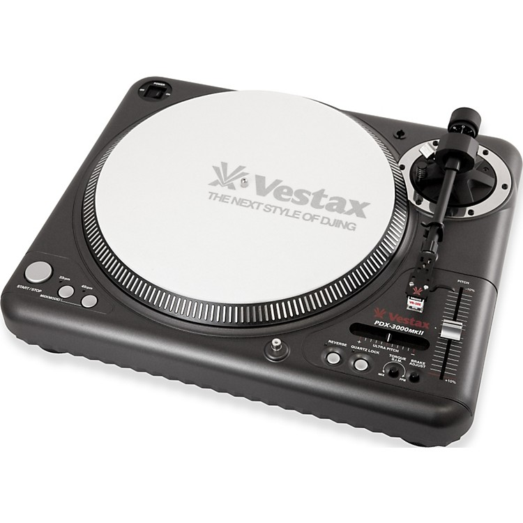 VestaxPDX-3000mkII Professional Direct Drive turntable with MIDI