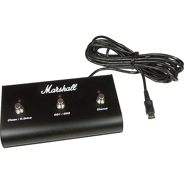 MarshallPED803 3-Way Footswitch with LEDs