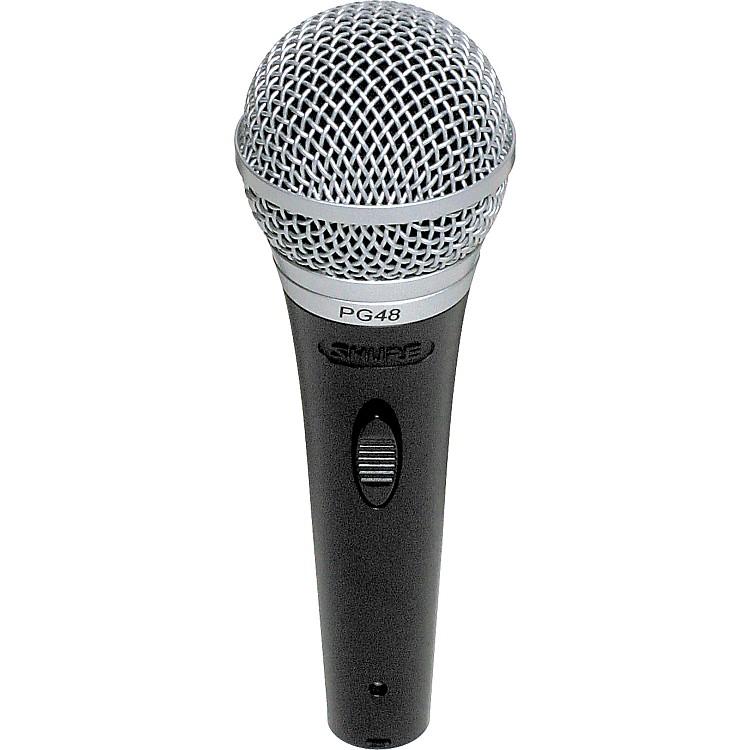 ShurePG48-LC Cardioid Dynamic Handheld Microphone