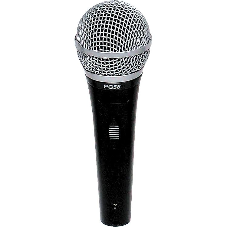ShurePG58-LC Cardioid Dynamic Handheld Microphone