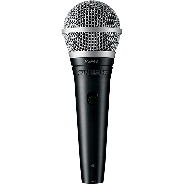 Shure PGA48-XLR Vocal Microphone with XLR Cable