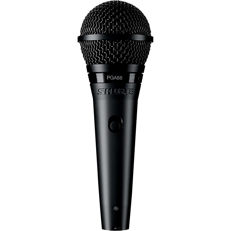 ShurePGA58-QTR Dynamic Vocal Microphone with XLR to 1/4