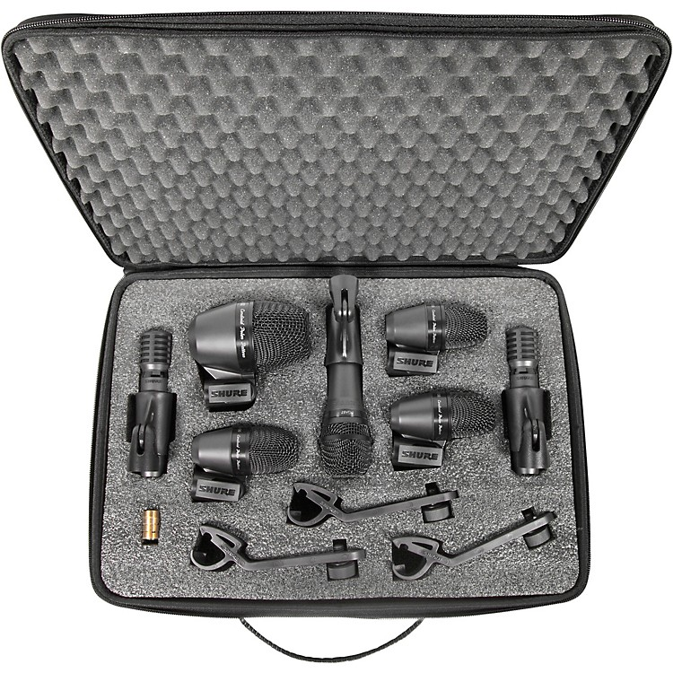ShurePGADRUMKIT7 7-Piece Drum Microphone Kit