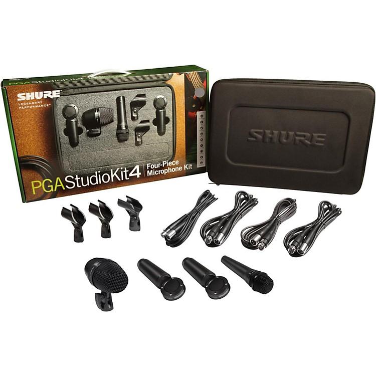 ShurePGASTUDIOKIT4 4-Piece Studio Microphone Kit