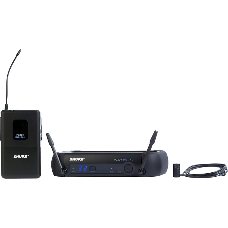 ShurePGXD14/85 Digital Wireless System with WL185 Lavalier Mic