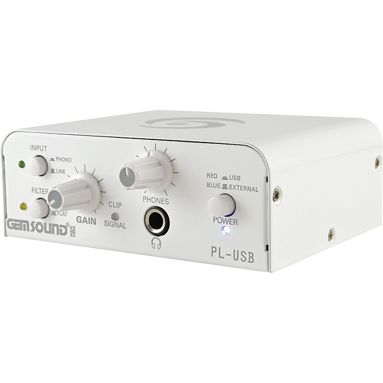 Gem Sound PL-USB Phono-to-USB Interface  886830504327