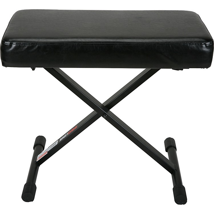 Proline Pl1250 Keyboard Bench With Memory Foam Music123