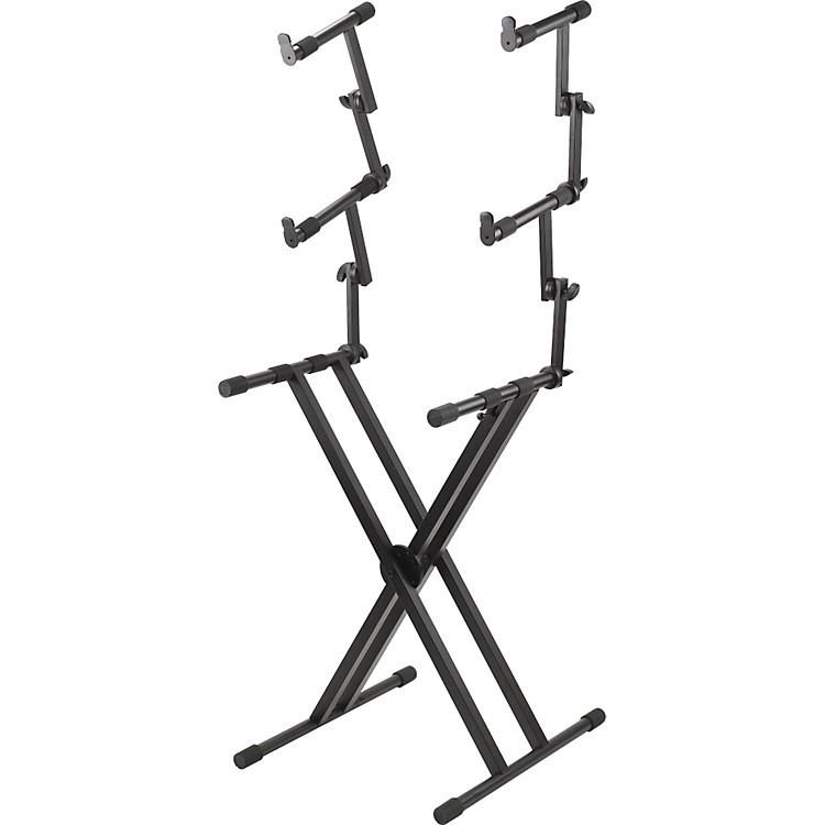ProlinePL403 3 Tier Double X-Braced Keyboard Stand