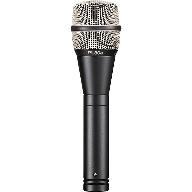 Electro-Voice PL80 Dynamic Microphone Standard Finish