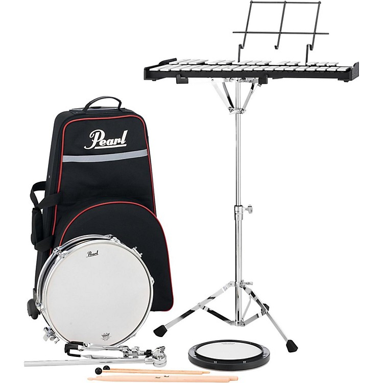 Pearl PL910C Educational Snare and Bell Kit with Rolling Cart 13 in.