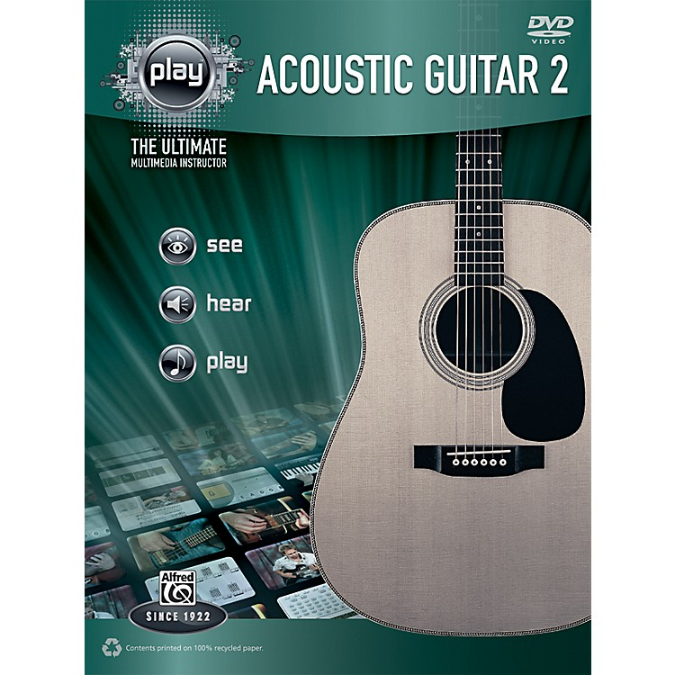 AlfredPLAY Series  Acoustic Guitar 2 Book & DVD