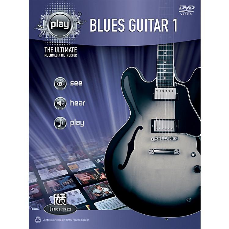 AlfredPLAY Series Blues Guitar 1 Book & DVD