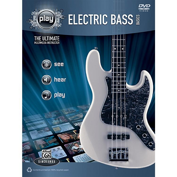 AlfredPLAY Series  Electric Bass Basics Book & DVD