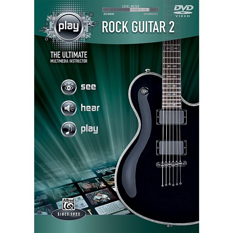 AlfredPLAY Series  Rock Guitar 2 DVD