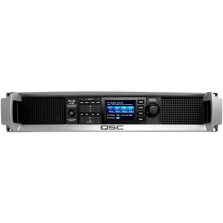 QSCPLD4.5 Multi-Channel System Processing Amplifier888365806389