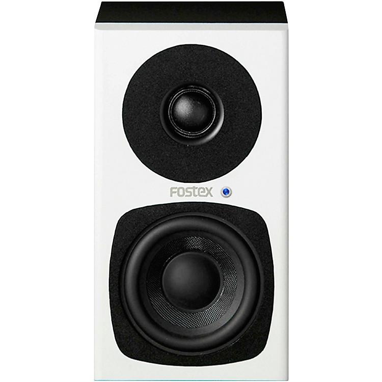 FostexPM0.3H Active Studio Monitors (White)