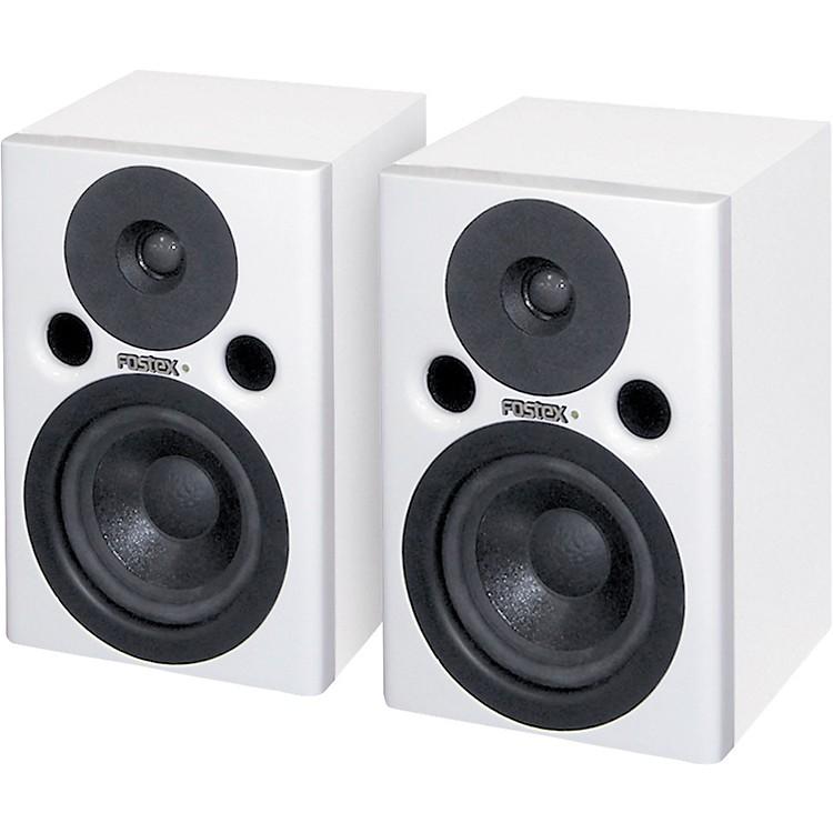 FostexPM0.4W Powered Studio Monitors White