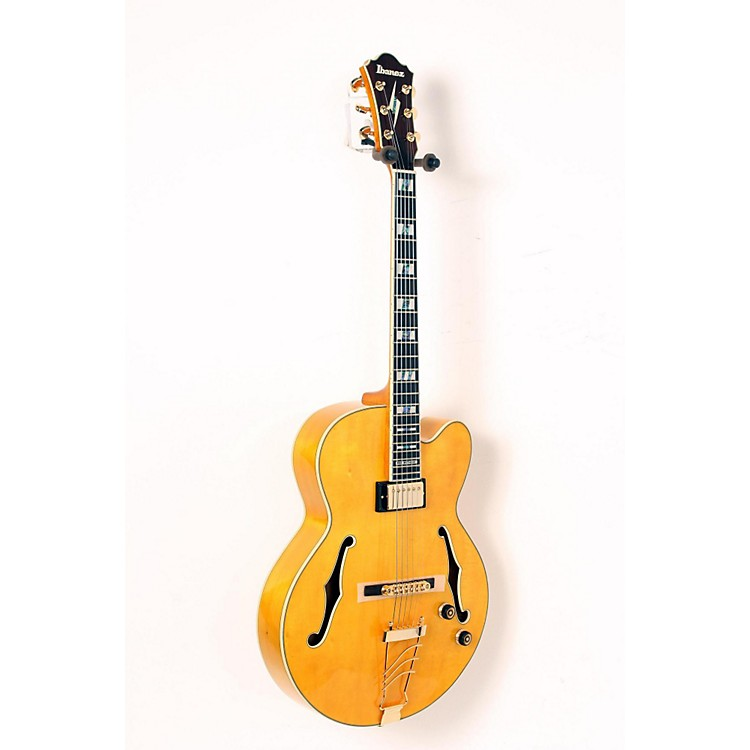 IbanezPM2 Pat Metheny Signature Hollowbody Electric Guitar - Antique AmberAged Amber888365911151