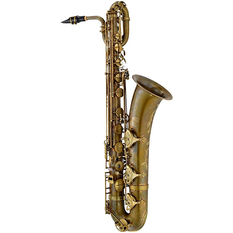 P. Mauriat PMB-302 Professional Baritone Saxophone Gold Lacquer
