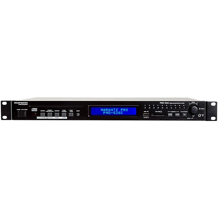 Marantz Professional PMD-526C CD/Media/Bluetooth Player with Remote