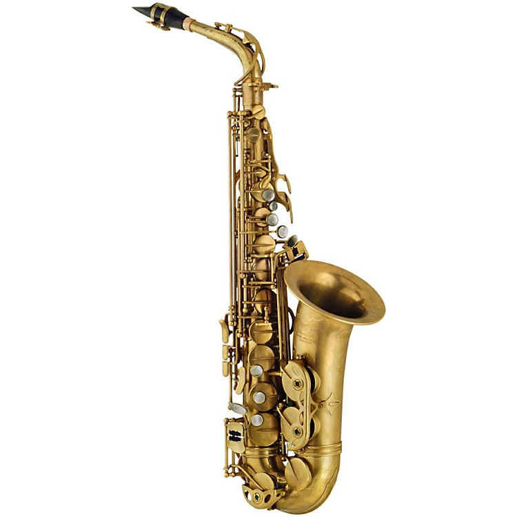 P. Mauriat PMXA-67RX Influence Professional Alto Saxophone Un-Lacquered