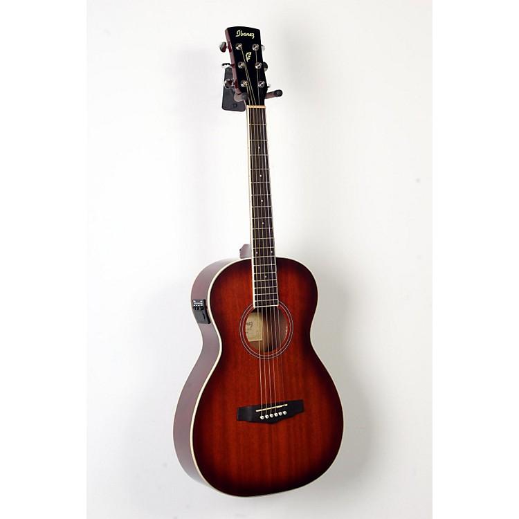 IbanezPN12E Mahogany Parlor Acoustic-Electric GuitarVintage Mahogany Sunburst888365894560