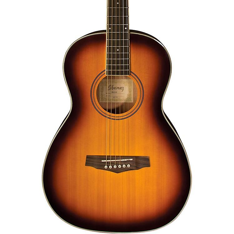 IbanezPN15 Parlor Size Acoustic GuitarBrown Sunburst