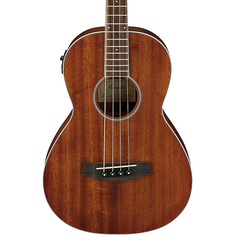 IbanezPNB14E Parlor Acoustic-Electric Bass GuitarNatural