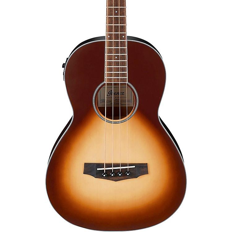 IbanezPNB15E Parlor Acoustic-Electric Bass GuitarLight Violin Sunburst