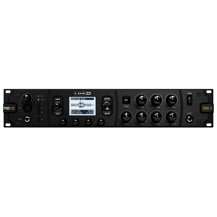 Line 6 POD HD Pro X Guitar Multi-Effects Processor