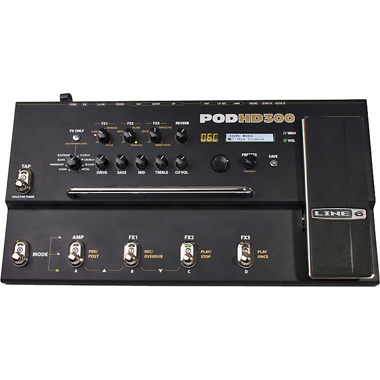 Line 6 POD HD300 Guitar Multi-Effects Processor