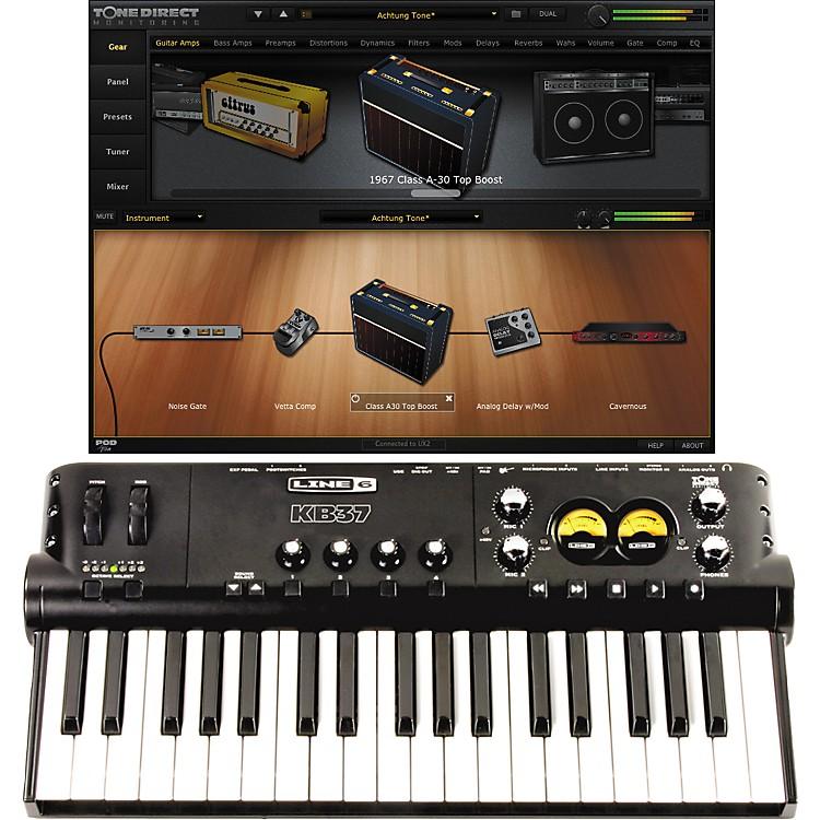 Line 6POD Studio KB37 USB Audio Interface with POD Farm Plug-in