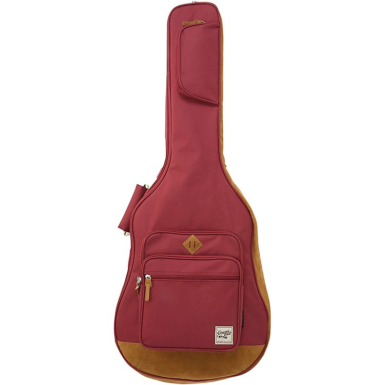 IbanezPOWERPAD Acoustic Guitar Gig BagWine Red