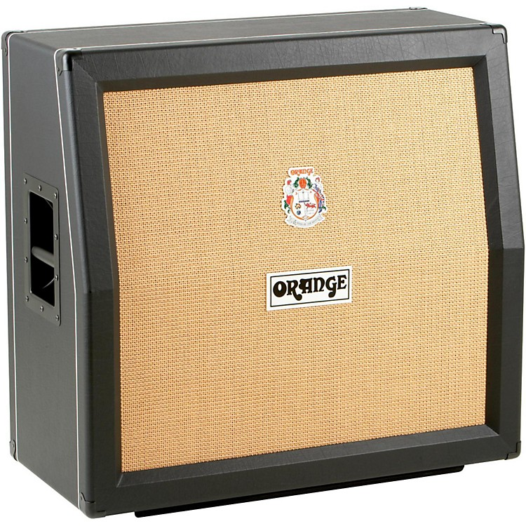 Orange AmplifiersPPC Series PPC412-A 240W 4x12 Guitar Speaker CabinetBlackSlant