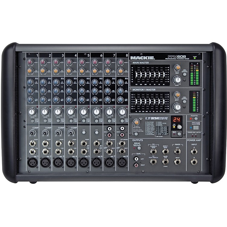 Mackie PPM608 8-Channel 1000W Powered Mixer  888365823867