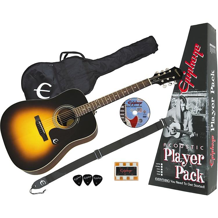 EpiphonePR-150 Acoustic Guitar Value PackNatural886830550454