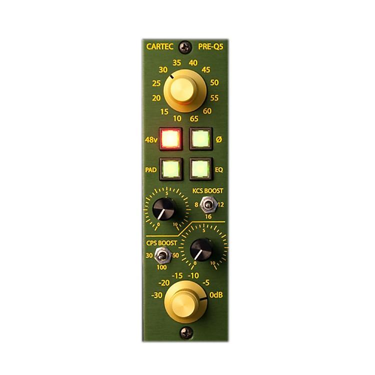 CARTEC AudioPRE-Q5 API 500 Series Mic Preamp