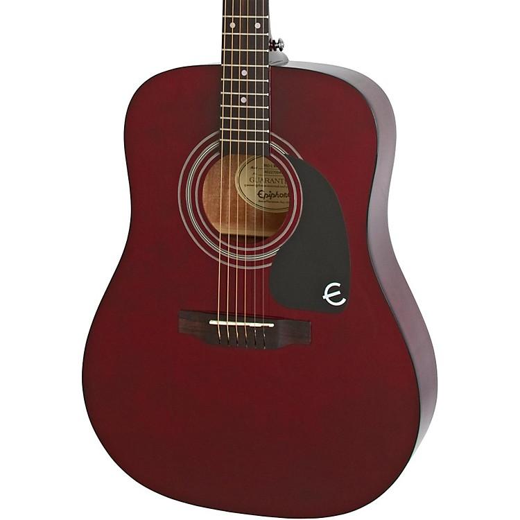 EpiphonePRO-1 Acoustic GuitarWine Red
