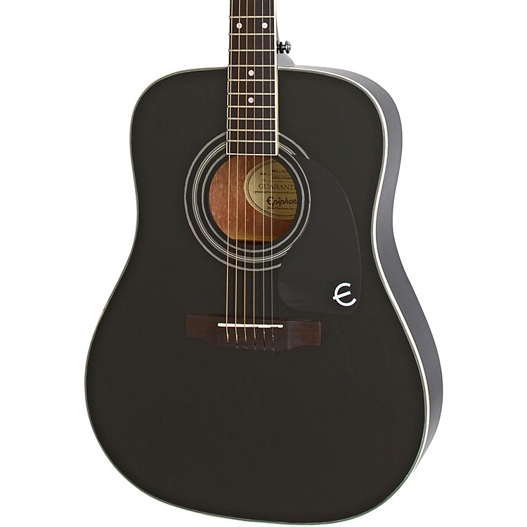 Epiphone PRO-1 PLUS Acoustic Guitar Ebony