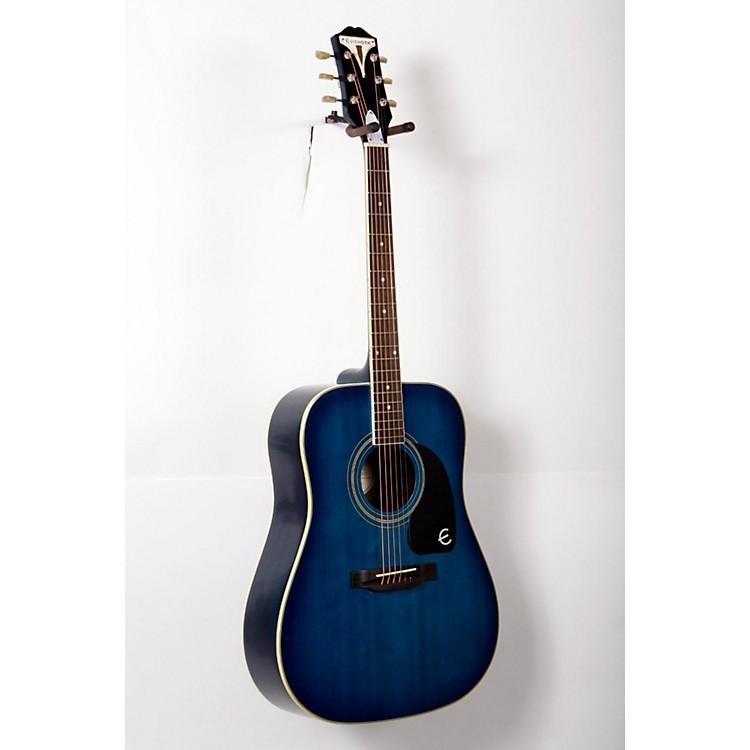 EpiphonePRO-1 PLUS Acoustic GuitarTransparent Blue888365771601