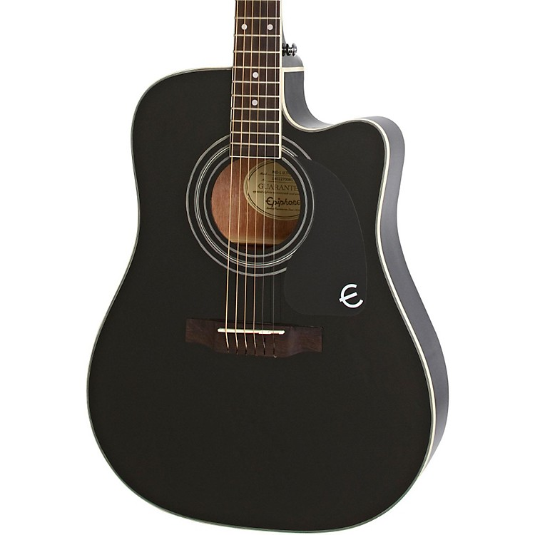 Epiphone PRO-1 ULTRA Acoustic-Electric Guitar Ebony