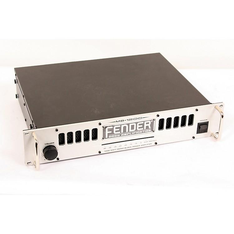 FenderPRO Series MB-1200 1200W Bass Power Amp889406298439