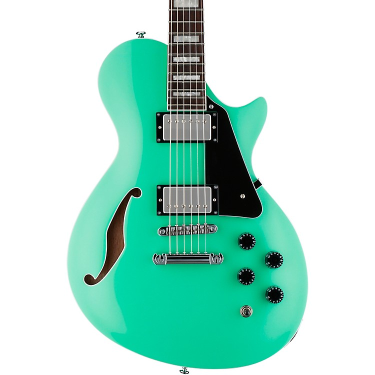 ESPPS-1 Xtone Paramount Series Semi-Hollow Electric GuitarSea Foam GreenBlack Pickguard